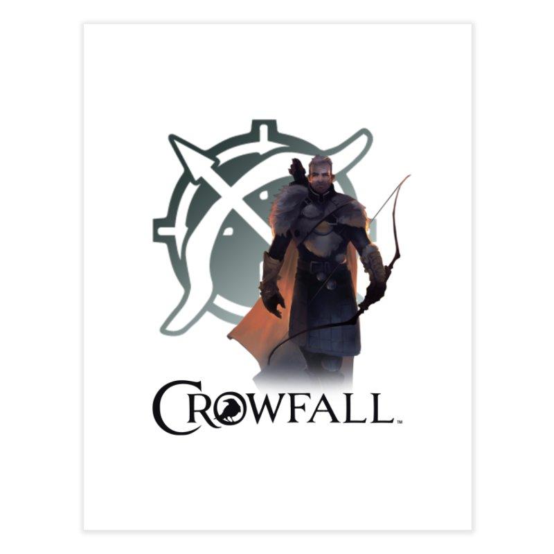 Crowfall Ranger 2 Home Fine Art Print by Shirts by Noc