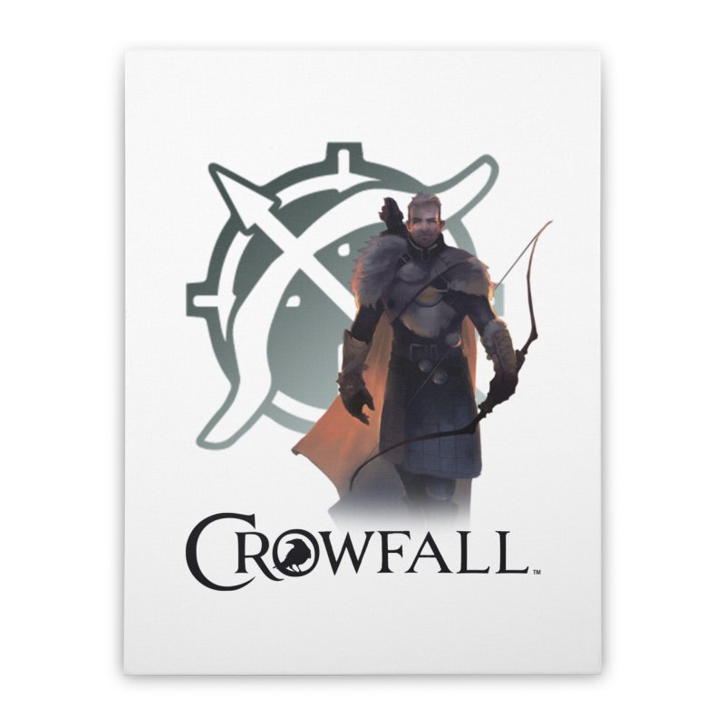 Crowfall Ranger 2 Home Stretched Canvas by Shirts by Noc