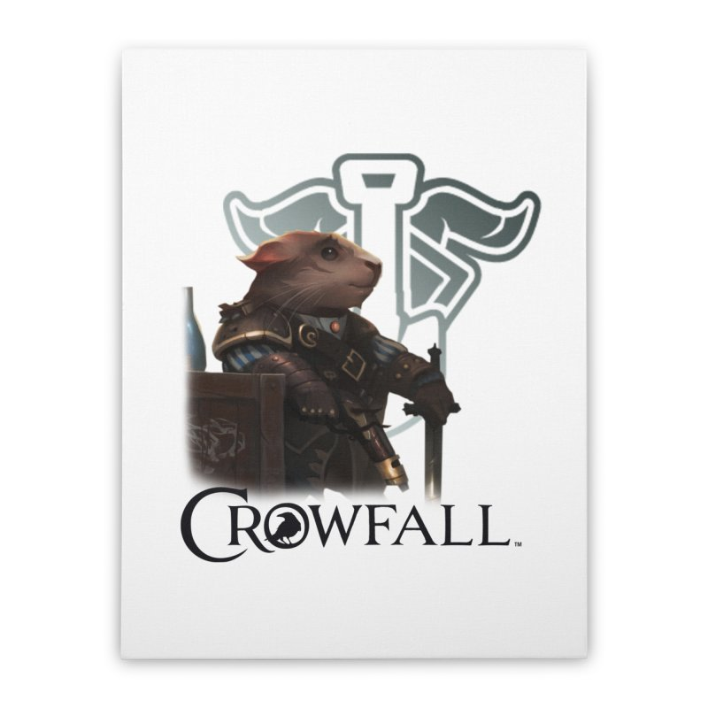 Crowfall Duelist Home Stretched Canvas by Shirts by Noc