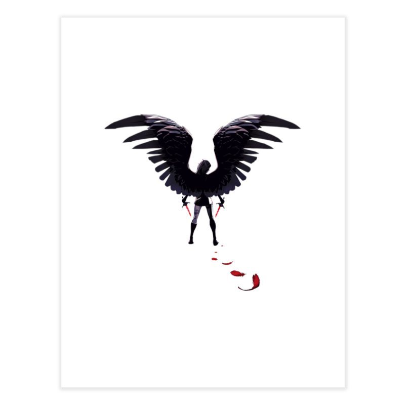 Assassin Home Fine Art Print by Shirts by Noc
