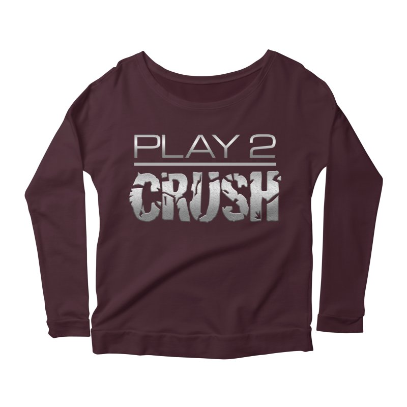 P2 Crush! Women's Longsleeve Scoopneck  by Shirts by Noc