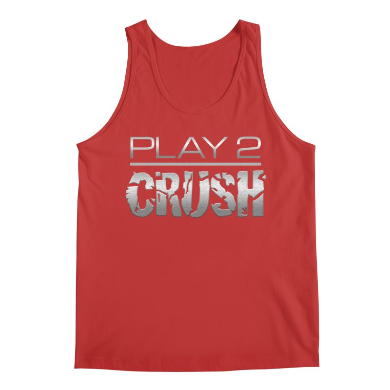 P2 Crush! Men's Regular Tank by Shirts by Noc