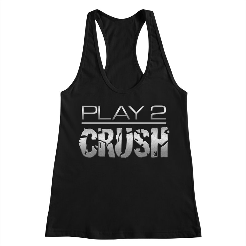P2 Crush! Women's Racerback Tank by Shirts by Noc
