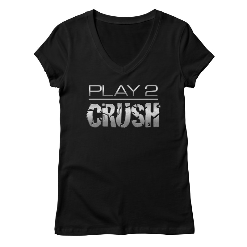P2 Crush! Women's V-Neck by Shirts by Noc