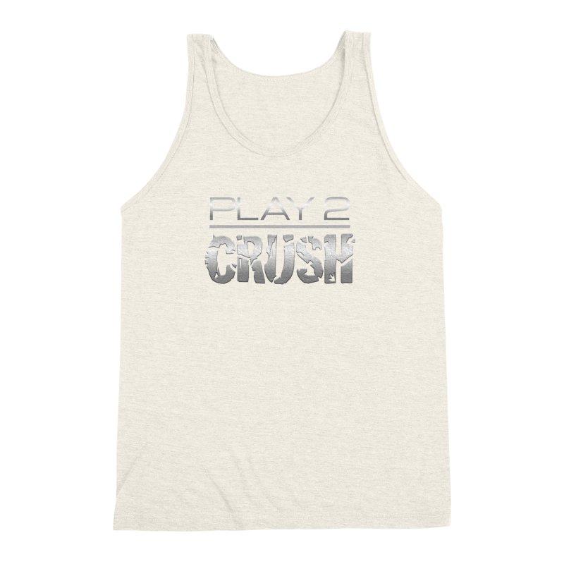 P2 Crush! Men's Triblend Tank by Shirts by Noc