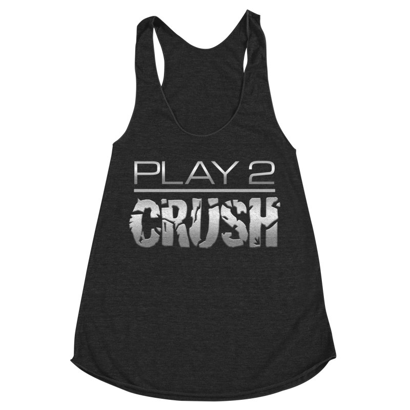P2 Crush! Women's Racerback Triblend Tank by Shirts by Noc