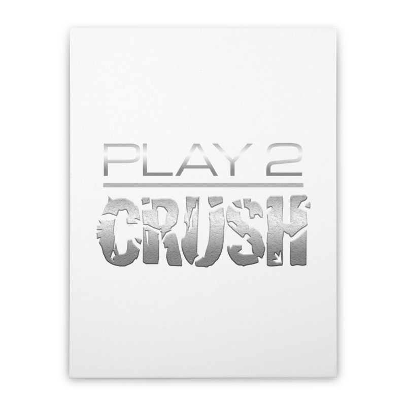 P2 Crush! Home Stretched Canvas by Shirts by Noc