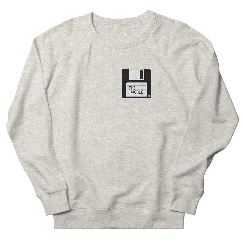 save_the_world Men's Sweatshirt by Unprovable