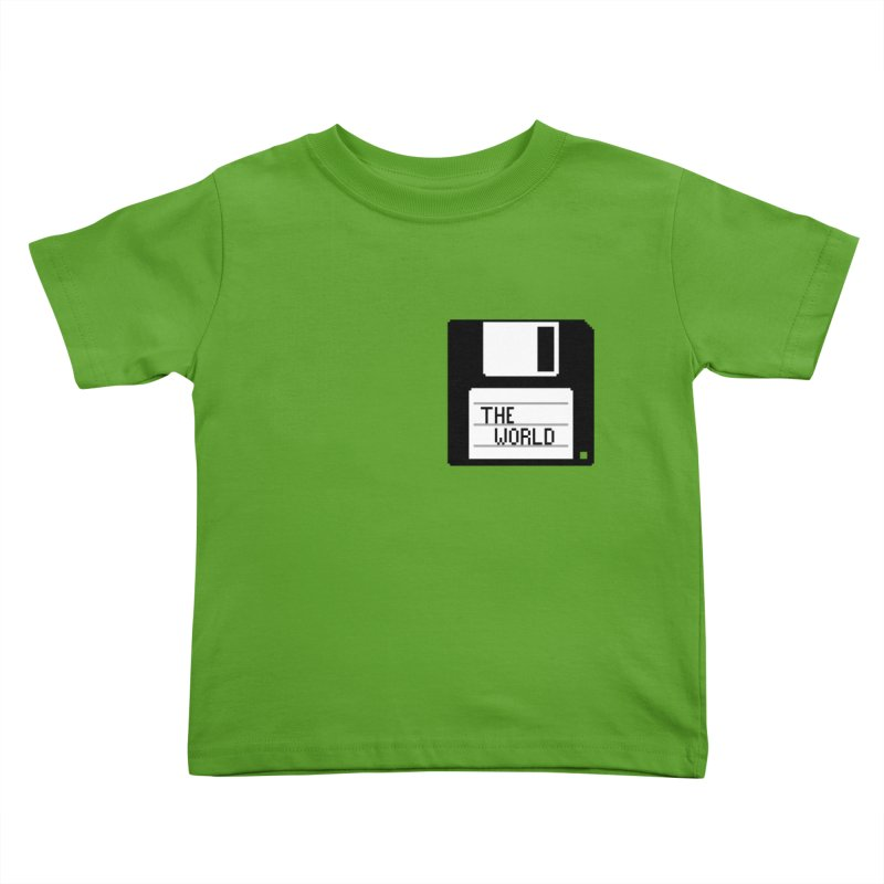 save_the_world Kids Toddler T-Shirt by Unprovable