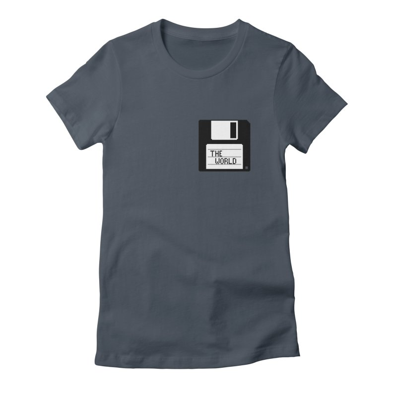 save_the_world Women's T-Shirt by Unprovable