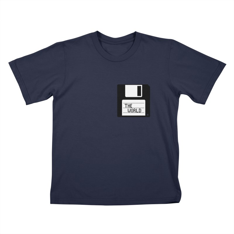 save_the_world Kids T-Shirt by Unprovable