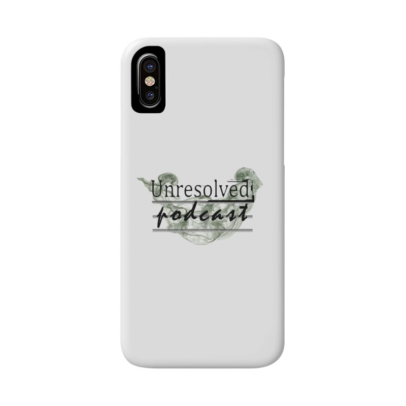 Unresolved Podcast Accessories Phone Case by Unresolved Shop