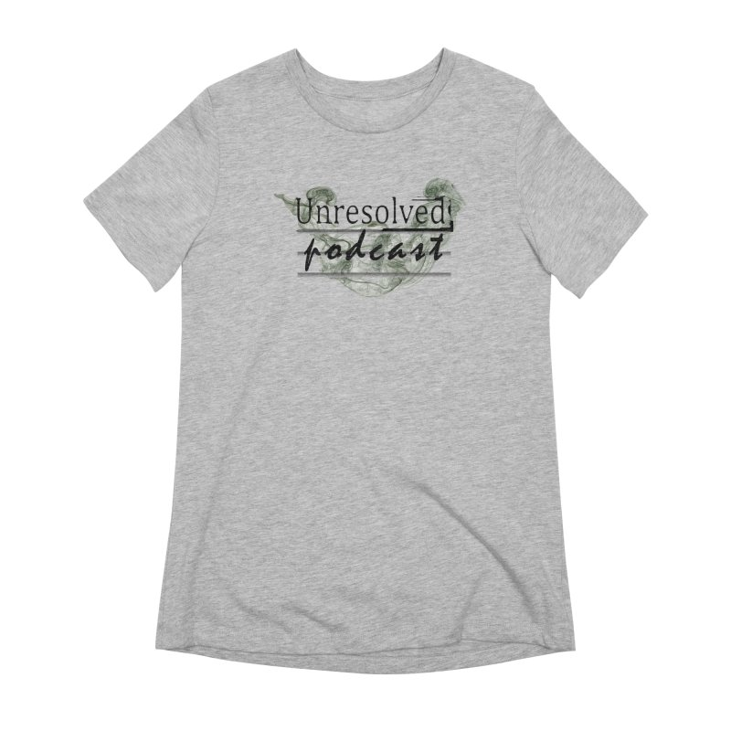 Unresolved Podcast Women's Extra Soft T-Shirt by Unresolved Shop