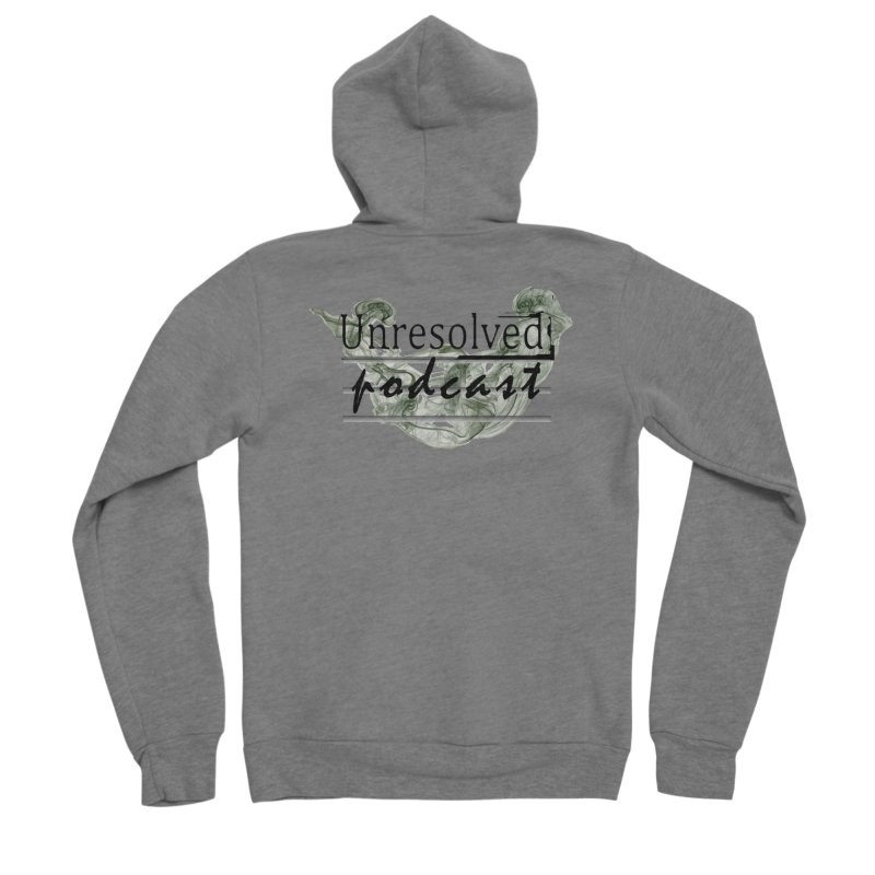 Unresolved Podcast Women's Sponge Fleece Zip-Up Hoody by Unresolved Shop