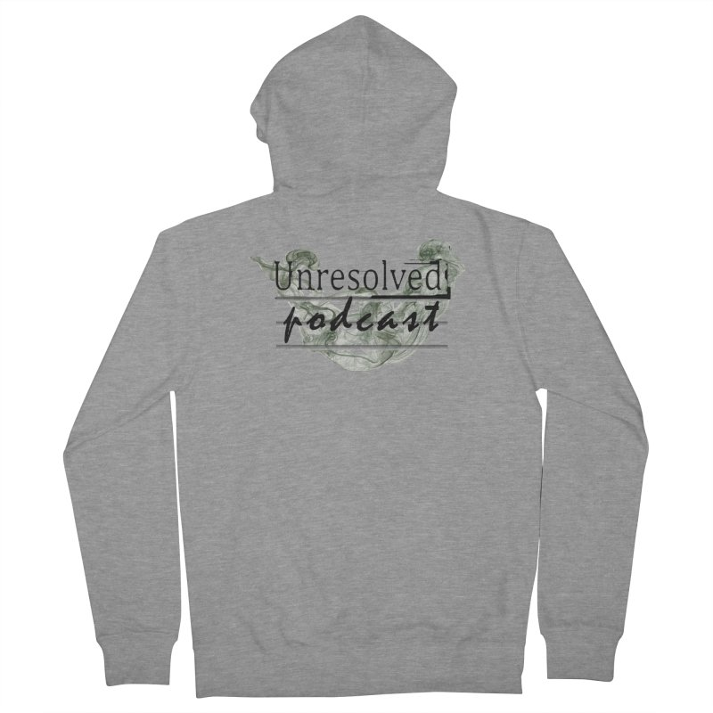 Unresolved Podcast Women's French Terry Zip-Up Hoody by Unresolved Shop