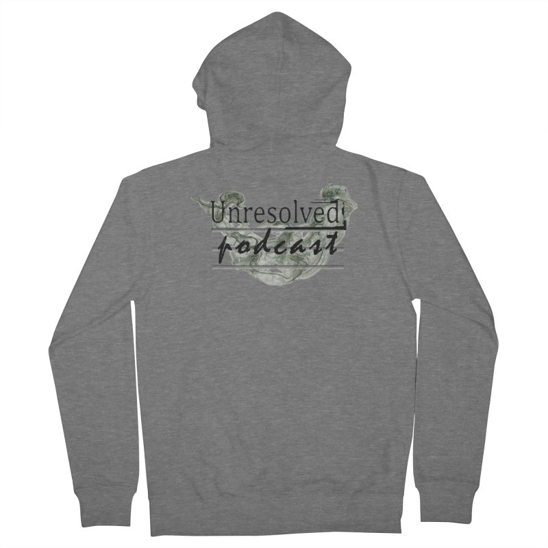 Unresolved Podcast Men's Zip-Up Hoody by Unresolved Shop