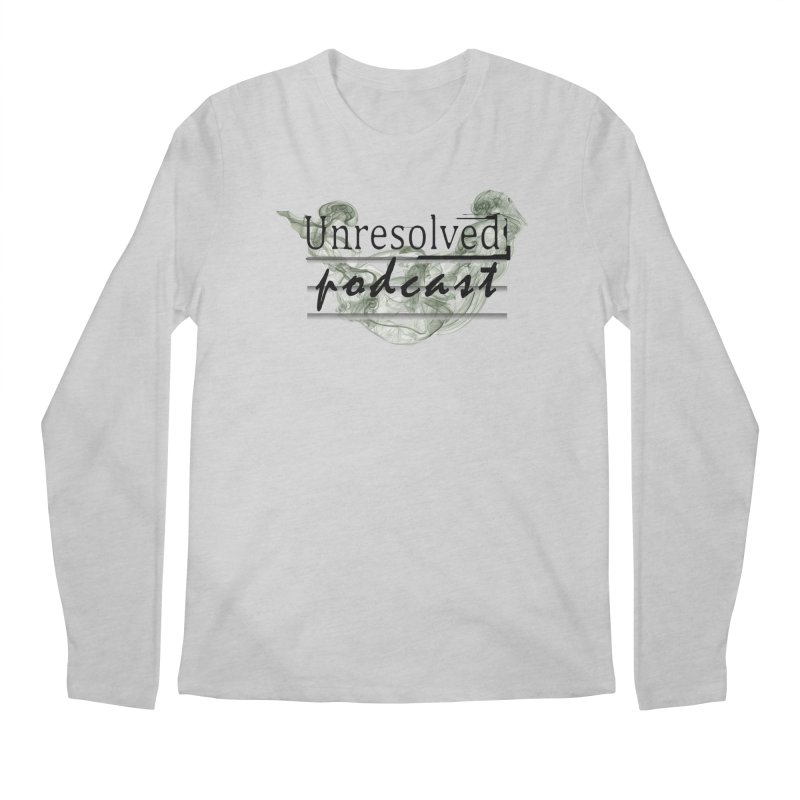 Unresolved Podcast Men's Regular Longsleeve T-Shirt by Unresolved Shop