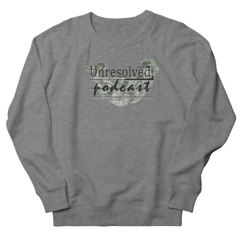 Unresolved Podcast Men's French Terry Sweatshirt by Unresolved Shop