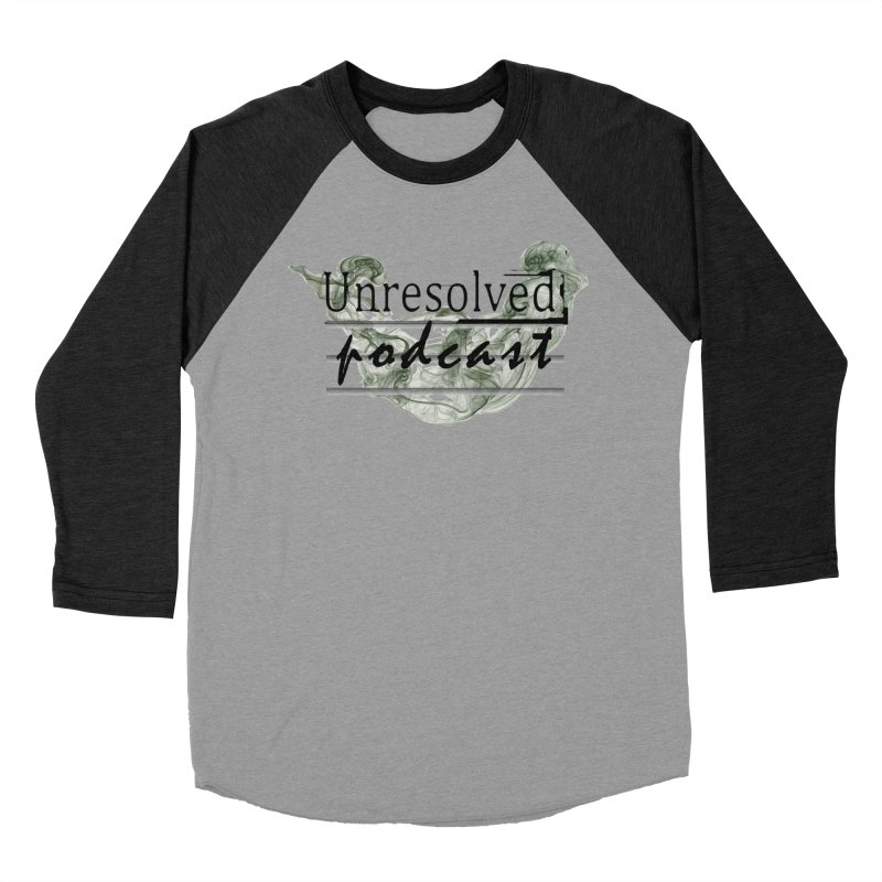 Unresolved Podcast Women's Baseball Triblend Longsleeve T-Shirt by Unresolved Shop