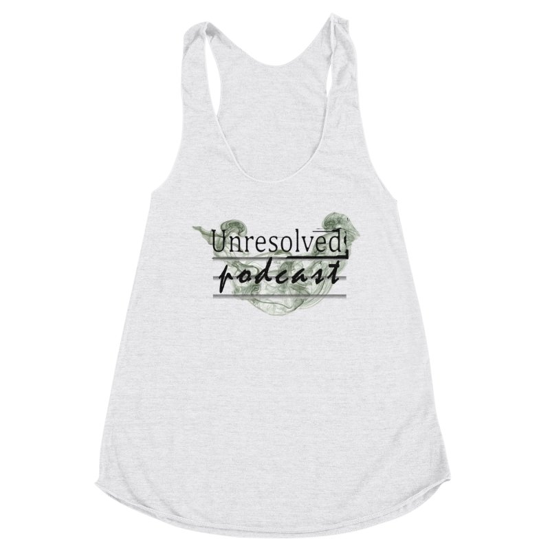 Unresolved Podcast Women's Racerback Triblend Tank by Unresolved Shop