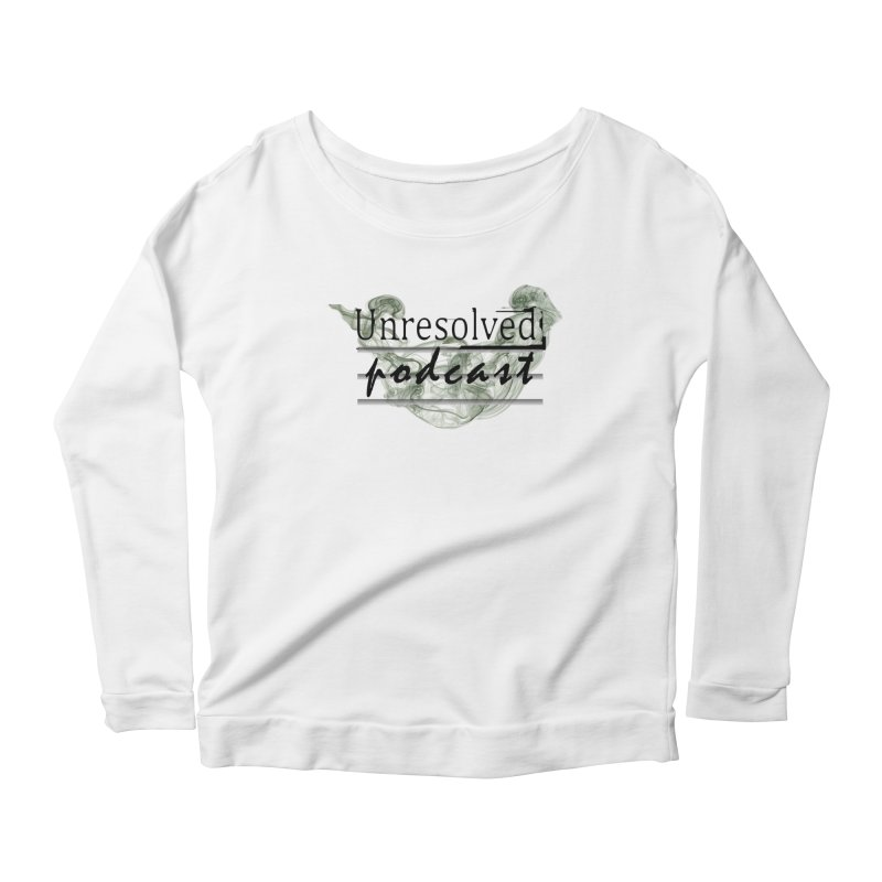 Unresolved Podcast Women's Scoop Neck Longsleeve T-Shirt by Unresolved Shop