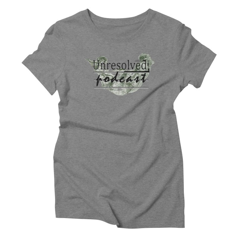 Unresolved Podcast Women's Triblend T-Shirt by Unresolved Shop