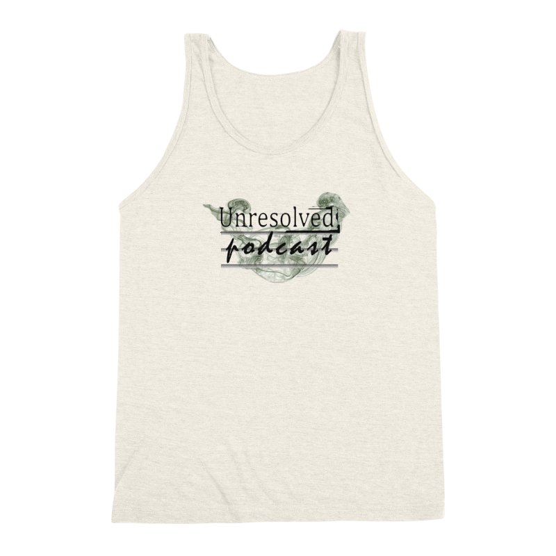 Unresolved Podcast Men's Triblend Tank by Unresolved Shop