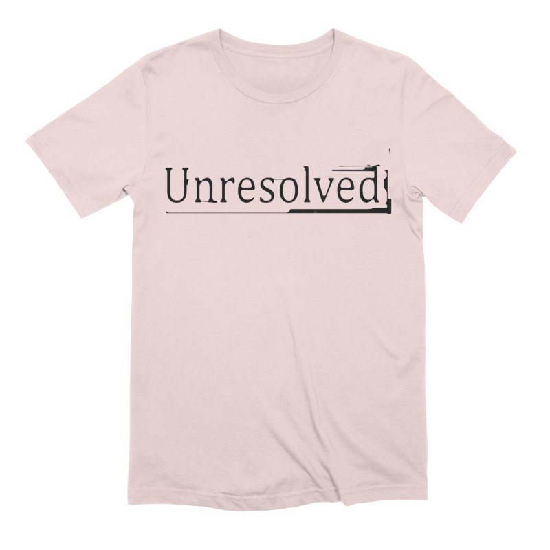 Unresolved (Black) Men's Extra Soft T-Shirt by Unresolved Shop