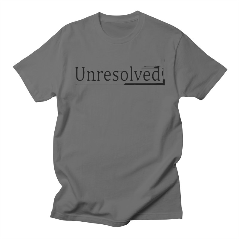 Unresolved (Black) Men's T-Shirt by Unresolved Shop