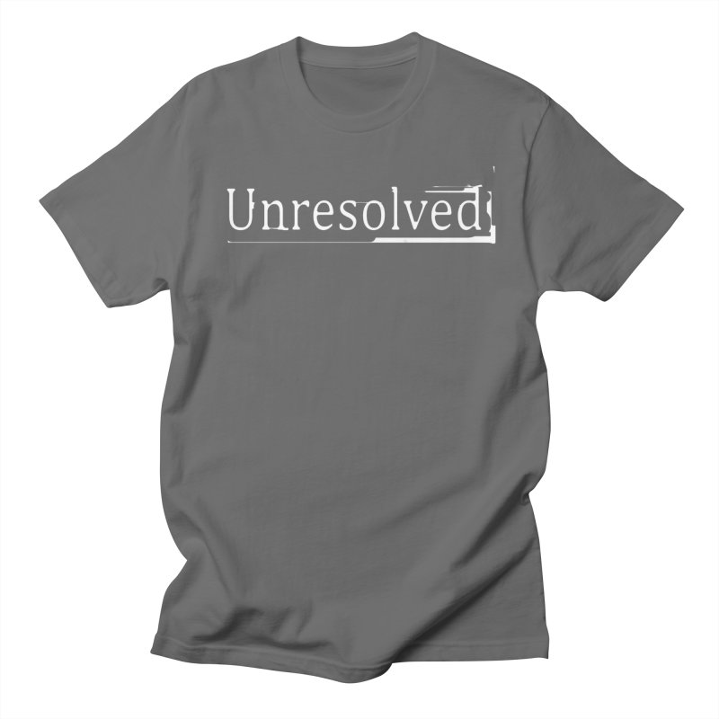 Unresolved (White) Men's T-Shirt by Unresolved Shop