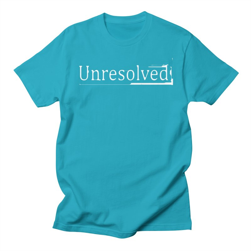 Unresolved (White) Women's Regular Unisex T-Shirt by Unresolved Shop