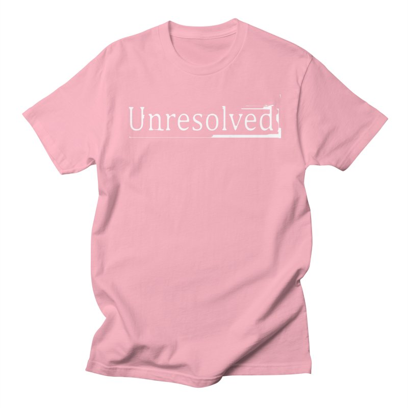 Unresolved (White) Men's Regular T-Shirt by Unresolved Shop