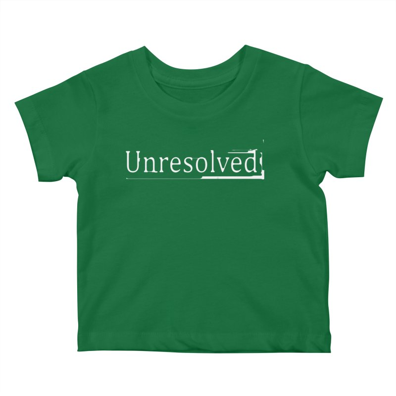 Unresolved (White) Kids Baby T-Shirt by Unresolved Shop