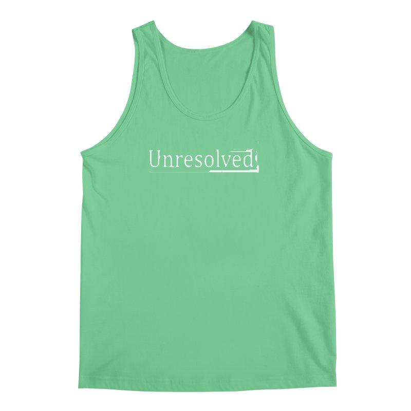 Unresolved (White) Men's Regular Tank by Unresolved Shop