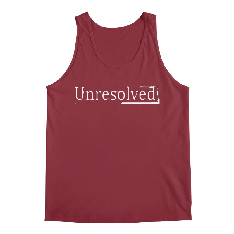 Unresolved (White) Men's Regular Tank by Unresolved Shop