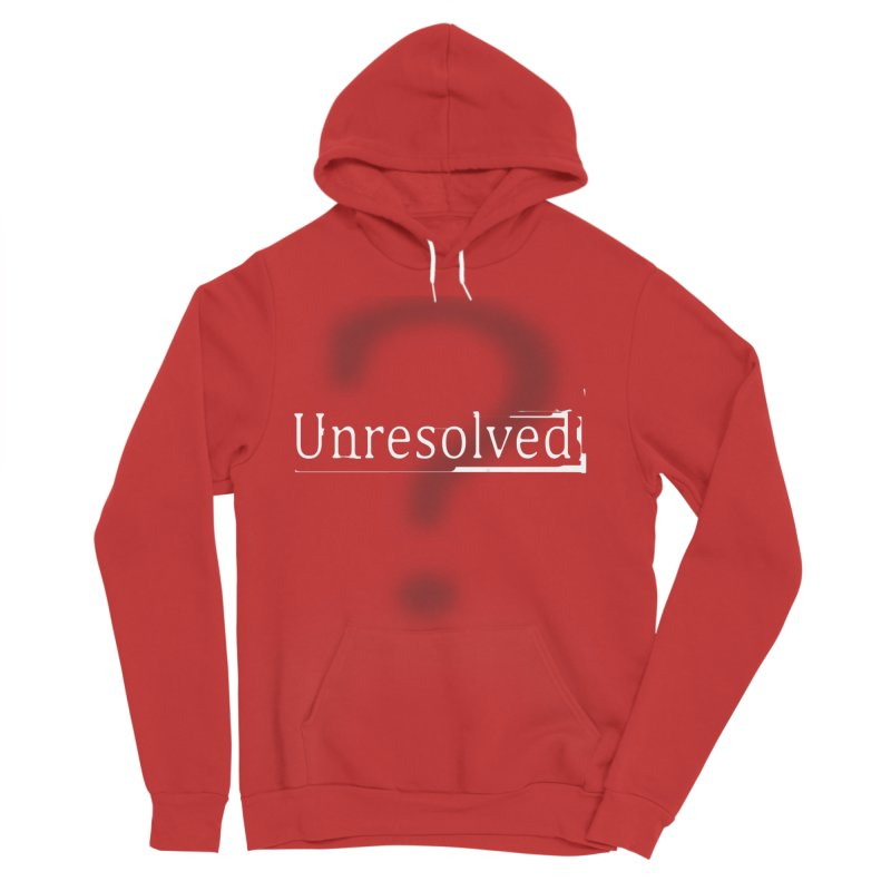 Question Mark (White) Men's Pullover Hoody by Unresolved Shop