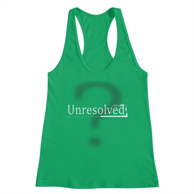 Question Mark (White) Women's Tank by Unresolved Shop