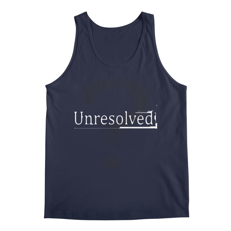 Question Mark (White) Men's Regular Tank by Unresolved Shop
