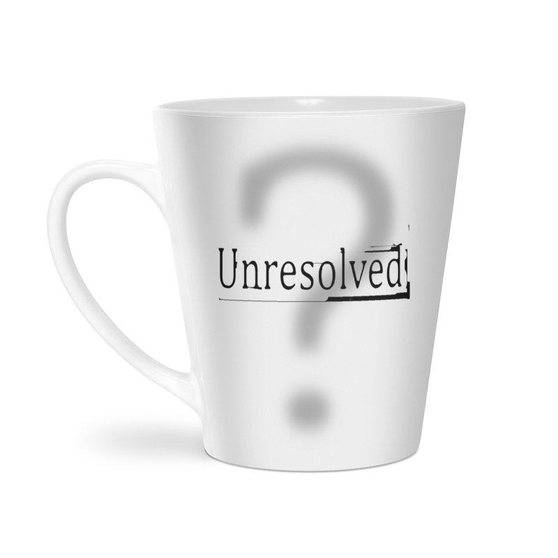 Question Mark (Black) Accessories Mug by Unresolved Shop