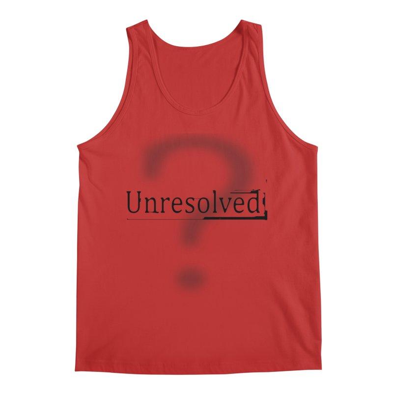 Question Mark (Black) Men's Regular Tank by Unresolved Shop