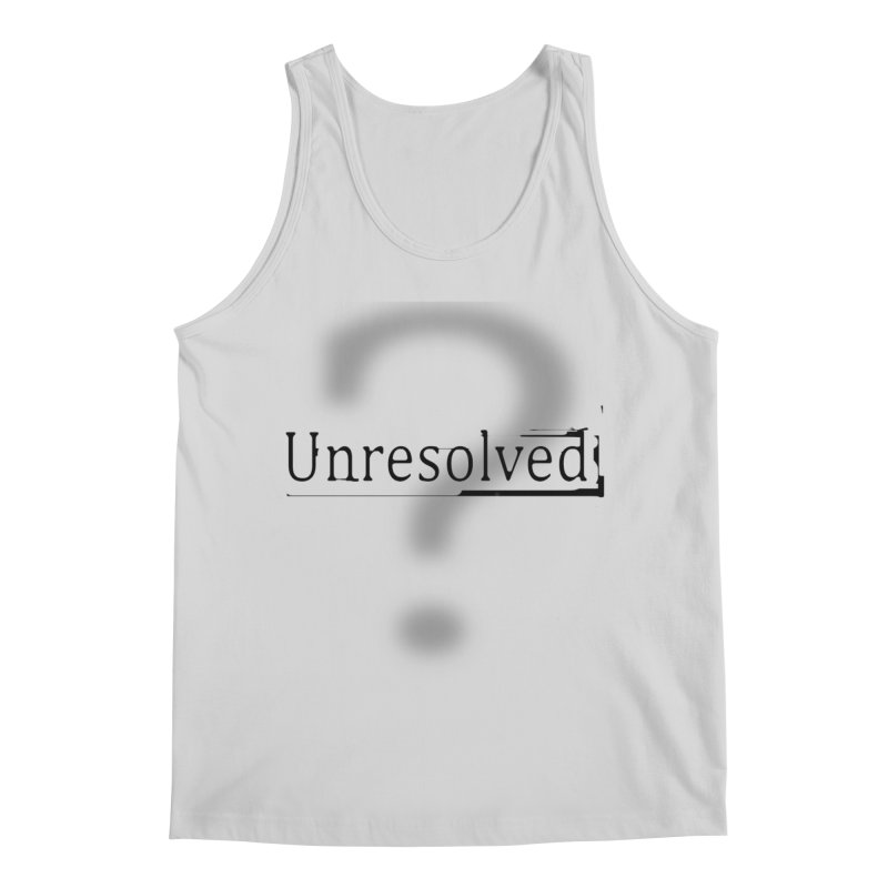 Question Mark (Black) Men's Regular Tank by Unresolved Shop