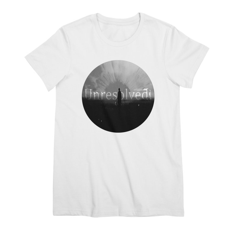 Logo (Rounded) Women's Premium T-Shirt by Unresolved Shop