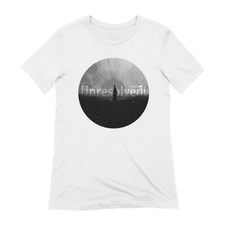 Logo (Rounded) Women's Extra Soft T-Shirt by Unresolved Shop