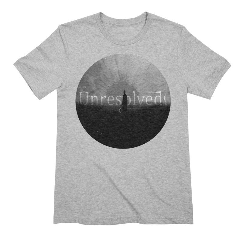 Logo (Rounded) Men's Extra Soft T-Shirt by Unresolved Shop