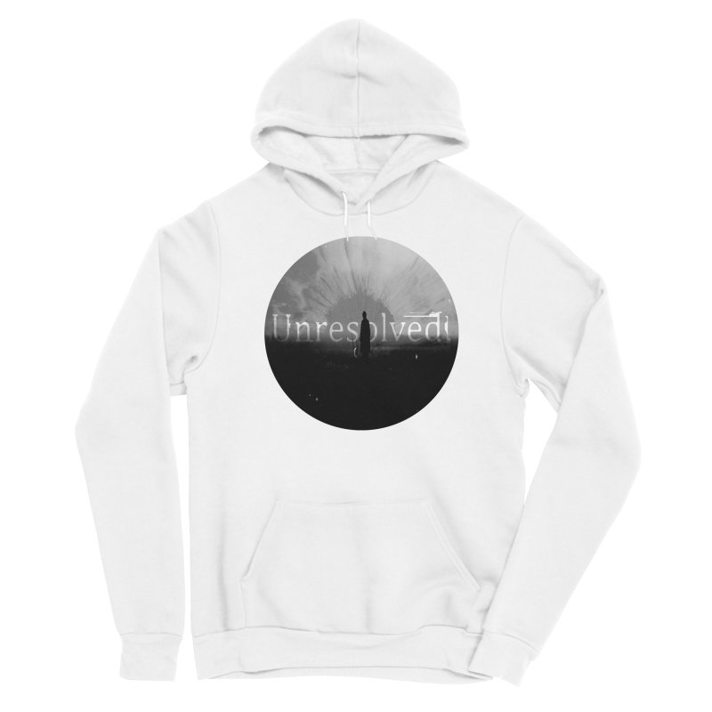 Logo (Rounded) Women's Sponge Fleece Pullover Hoody by Unresolved Shop
