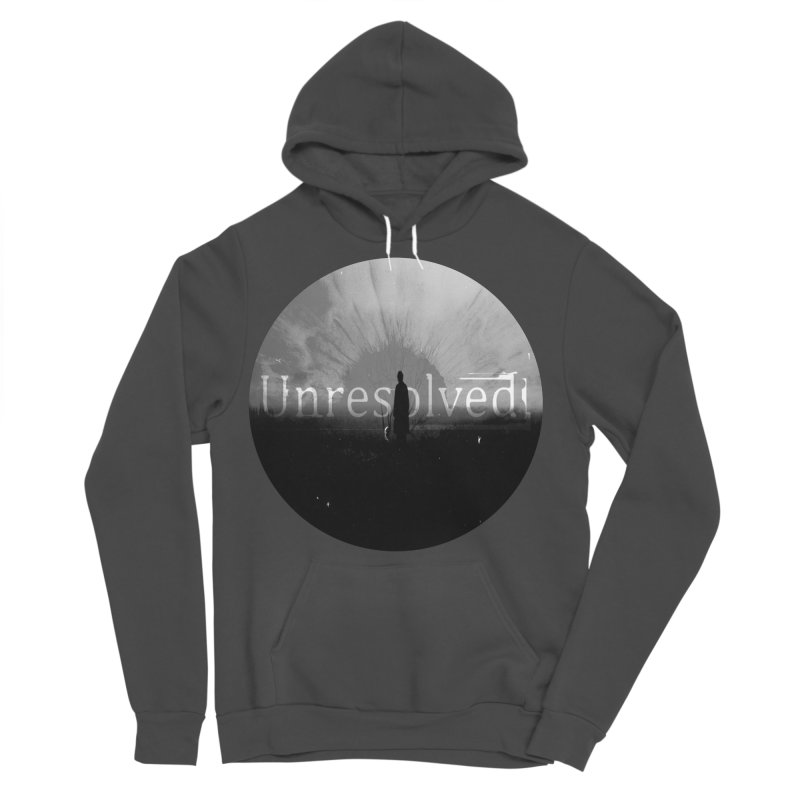 Logo (Rounded) Men's Sponge Fleece Pullover Hoody by Unresolved Shop