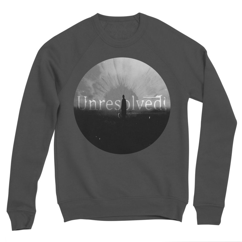 Logo (Rounded) Men's Sponge Fleece Sweatshirt by Unresolved Shop