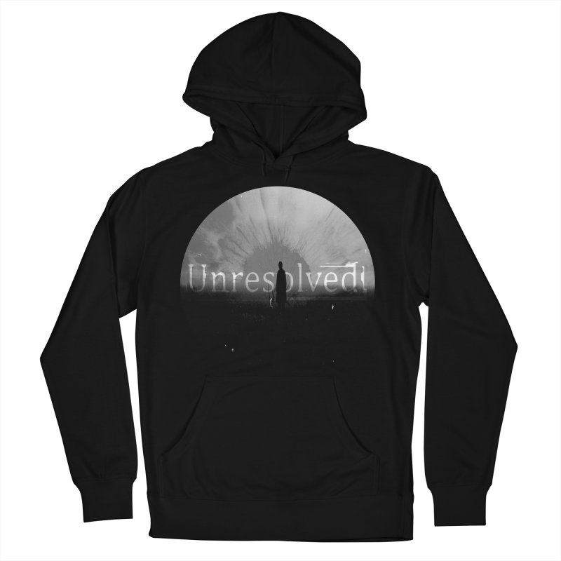 Logo (Rounded) Women's French Terry Pullover Hoody by Unresolved Shop