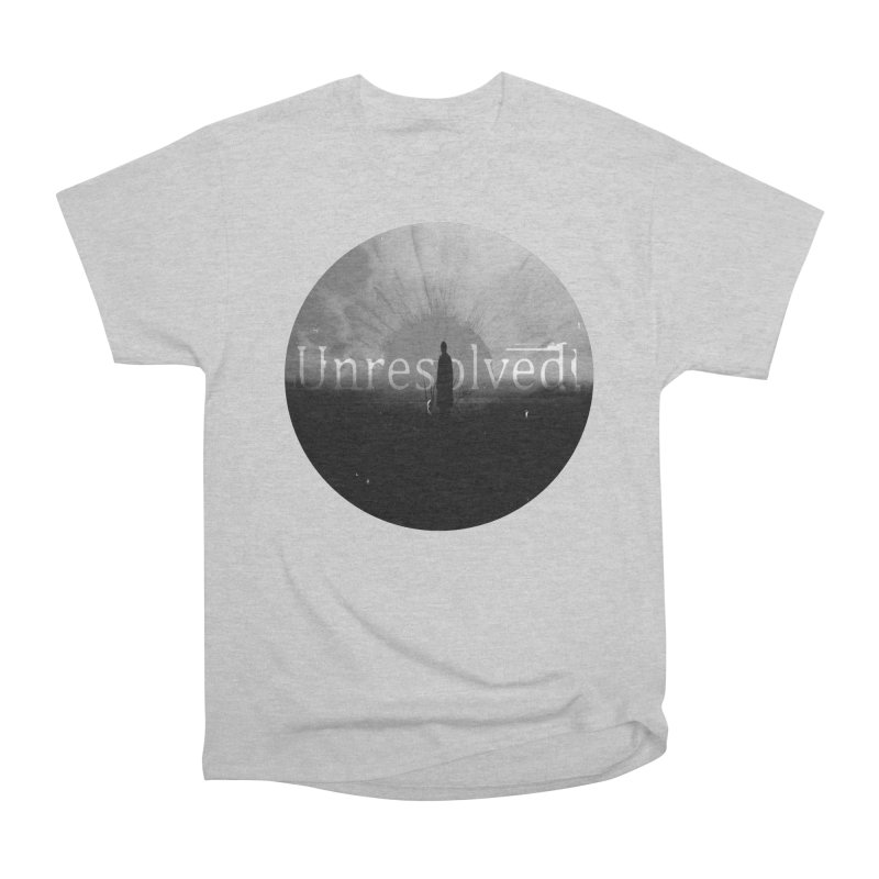 Logo (Rounded) Women's Heavyweight Unisex T-Shirt by Unresolved Shop