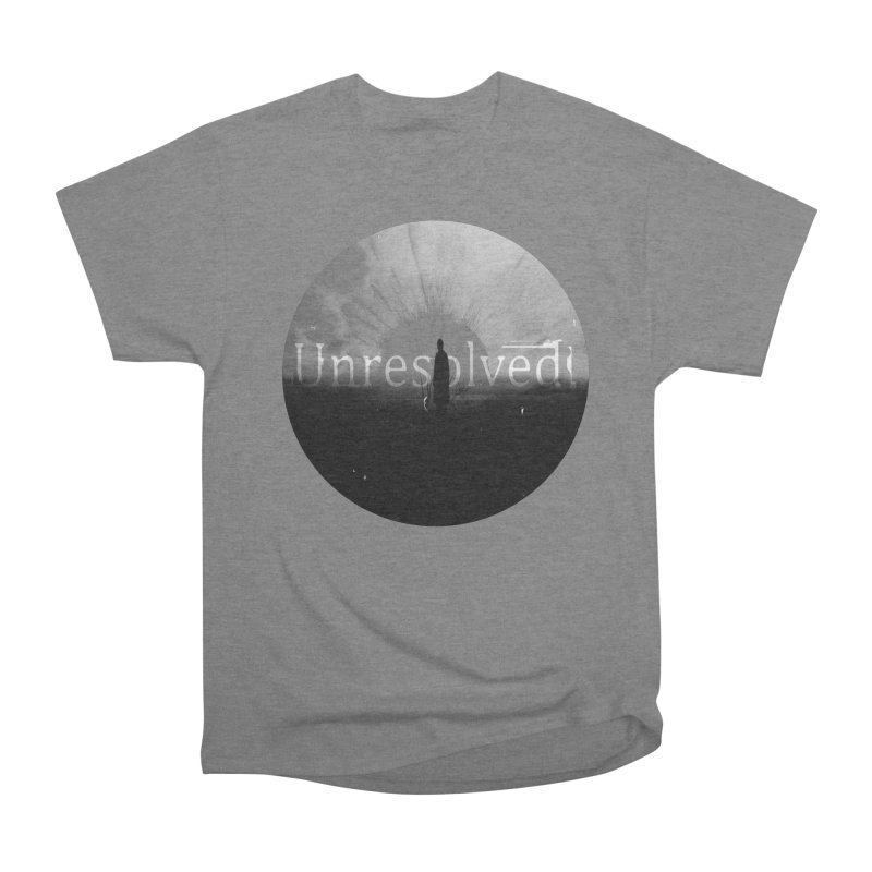 Logo (Rounded) Men's Heavyweight T-Shirt by Unresolved Shop